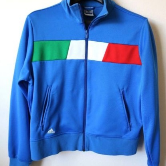 d00ce2d61247 adidas Other - Adidas Italy World Cup Zip Up Track Jacket